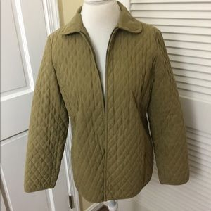 Talbots Quilted Jacket Coat